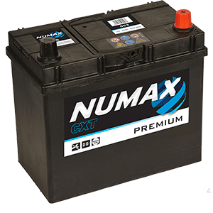 BATTERIE NUMAX (053)<br>12 V 45 AH + D 400 (EN)