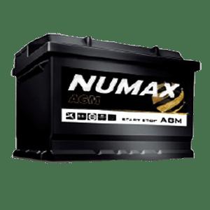 BATTERIE NUMAX AGM (096AGM)<br>12 V 70 AH 760 (EN)
