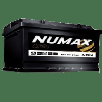 BATTERIE NUMAX AGM<br>12 V 80 AH 800 (EN)