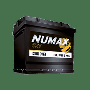 batterie numax supreme 12 v 55ah 560 en xs063
