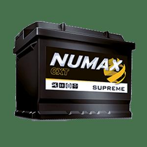 batterie numax supreme 12 v 66ah 650 en xs027