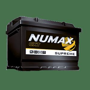 batterie numax supreme 12 v 75ah 750 en xs096