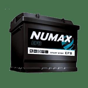 Batterie Numax EFB 12v 60 ah 560 en