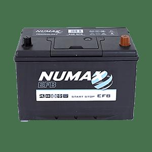 Batterie Numax EFB 12v 68 ah 730 en