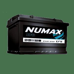Batterie Numax EFB 12v 70 ah 650 en