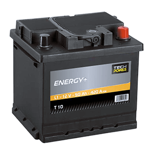 batterie tech power 12v 50ah 420en t10