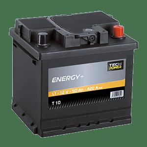 batterie tech power 12v 50ah 420en t10
