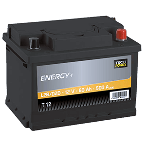 batterie tech power 12v 60ah 500en t12