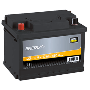 batterie tech power 12v 60ah+ G480en t11