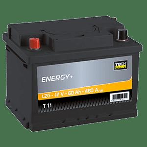 batterie tech power 12v 60ah+ G480en t11