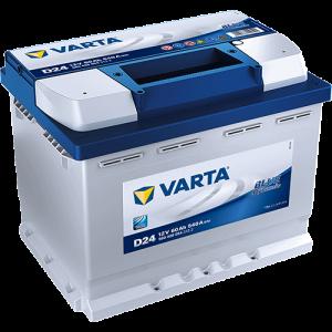 BATTERIE VARTA 12V 60AH 540 EN D24