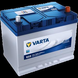 BATTERIE VARTA 12V 70AH +D630EN E23