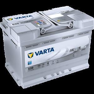 BATTERIE VARTA AGM 12V 70AH 760 EN E39