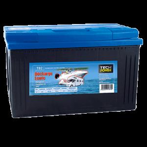 batterie tech power décharge lente 12v 100a + d 720 en t82