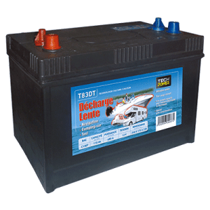 batterie tech power décharge lente 12v 110a + d 680 en t83dt