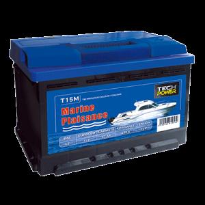 batterie tech power MARINE 12v 62a + d 540 en T15M
