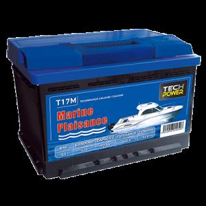 batterie tech power MARINE 12v 72a + d 640 en T17M