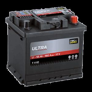 batterie tech power ultra 12batterie tech power 12v 55ah 560en t1160