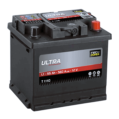 batterie tech power ultra 12batterie tech power 12v 55ah 560en t1160