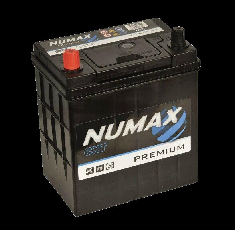 BATTERIE NUMAX (055)<br>12 V 35 AH 300 (EN) + G
