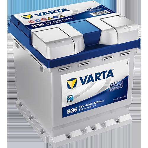 BATTERIE VARTA (B36)12 V 44 AH 420 (EN)
