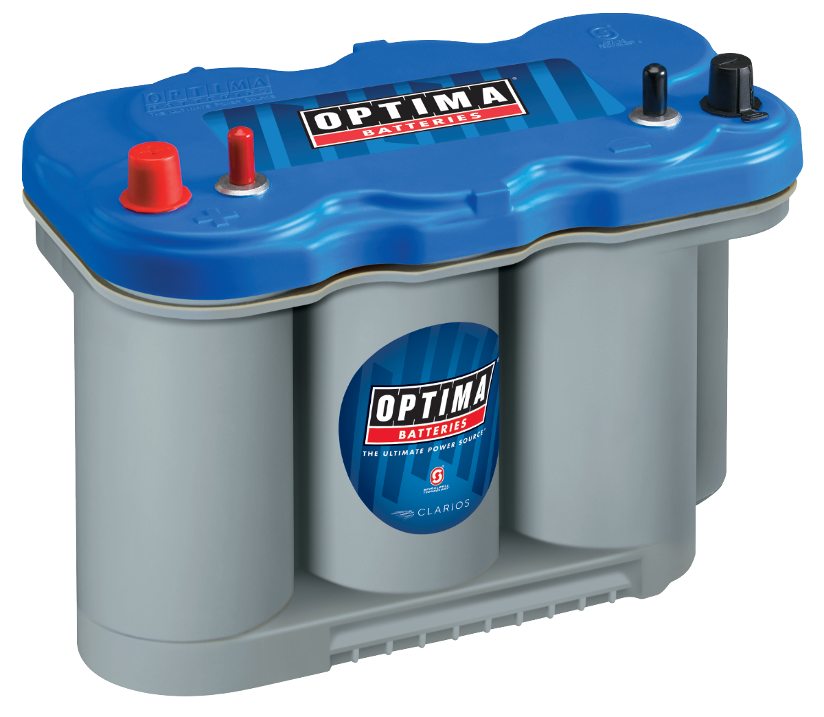 BATTERIE OPTIMA BLUE TOP AGM BTDC5.5<br>12 V 75 AH 975A