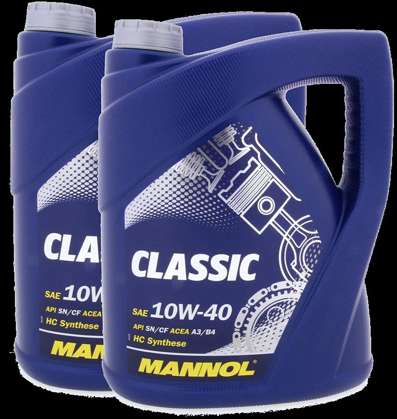 10W40 MANNOL CLASSIC (7501) 2X5L
