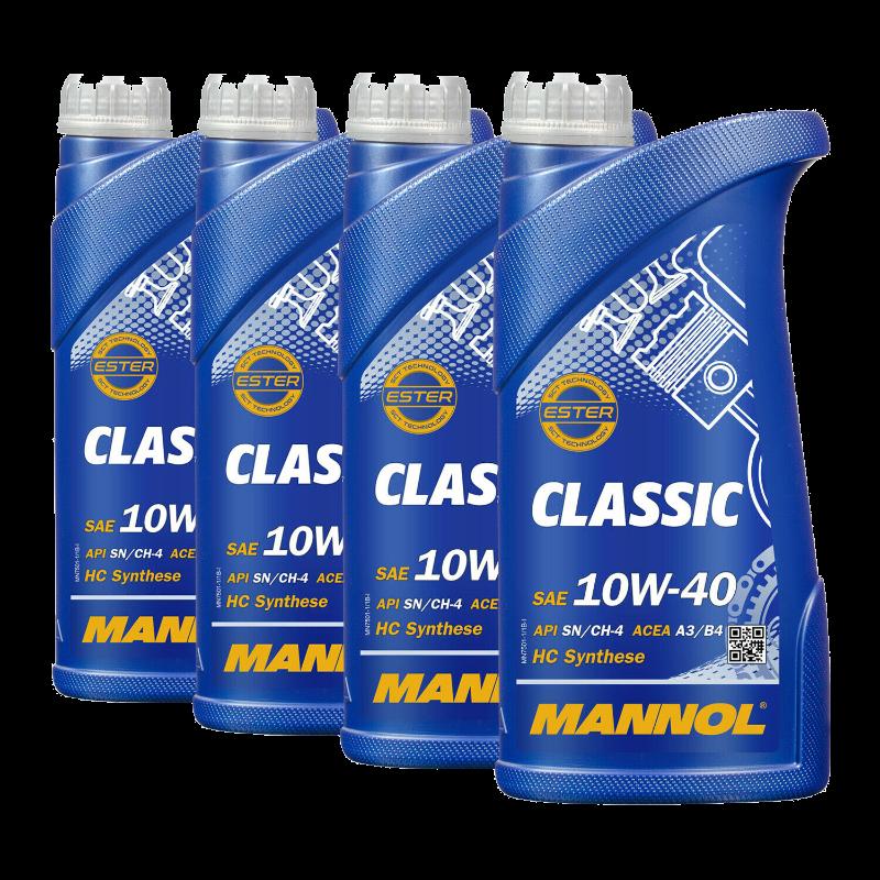10W40 MANNOL CLASSIC (7501) 4 X 1L